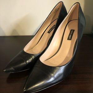 Nine West NW FLAX Black Heels size 12M
